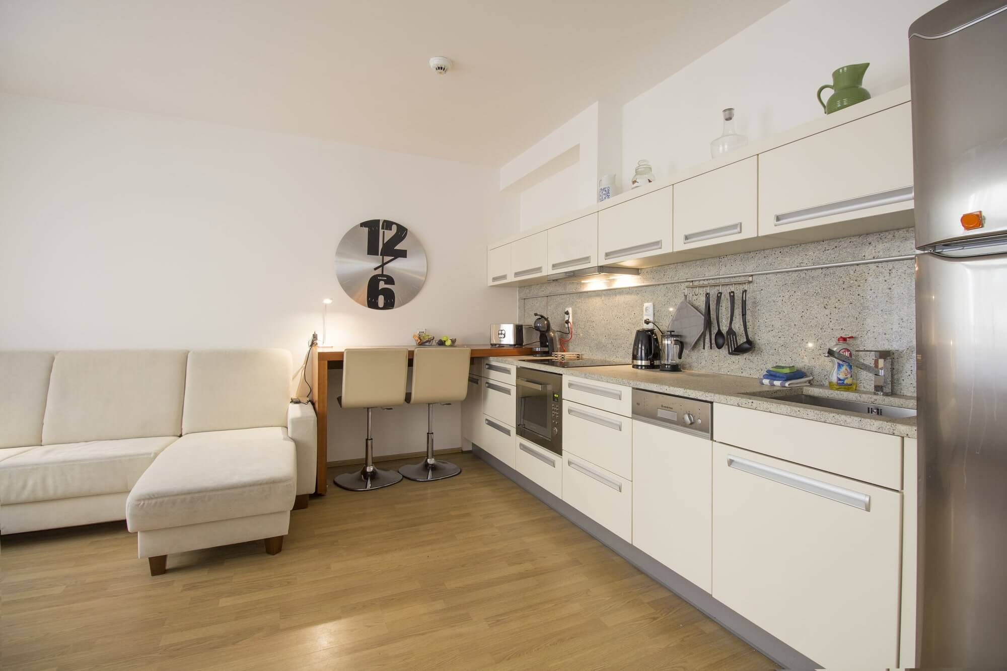 Apartment near Prague castle - fully equipped kitchen