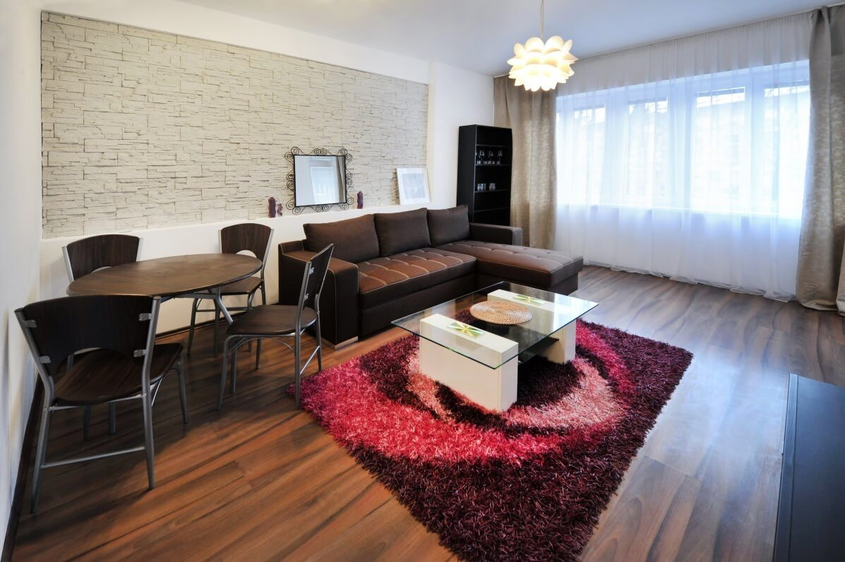 Bratislava home - living & dining space