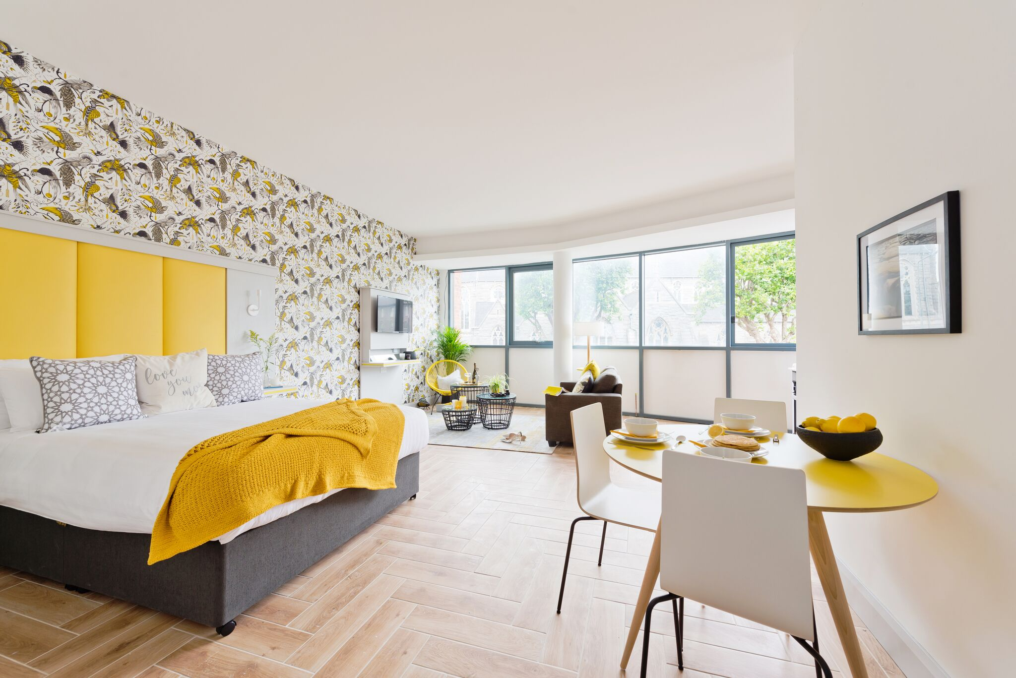 Boutique studio apartment Dublin - Inchicore Studio Yellow