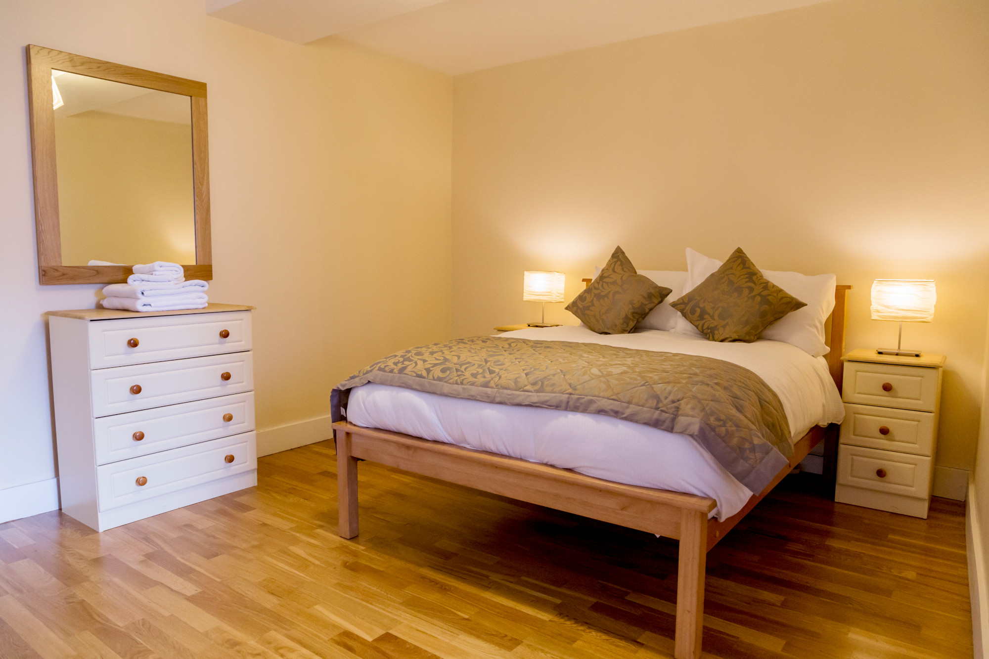 Dublin one bedroom apartment - Bed