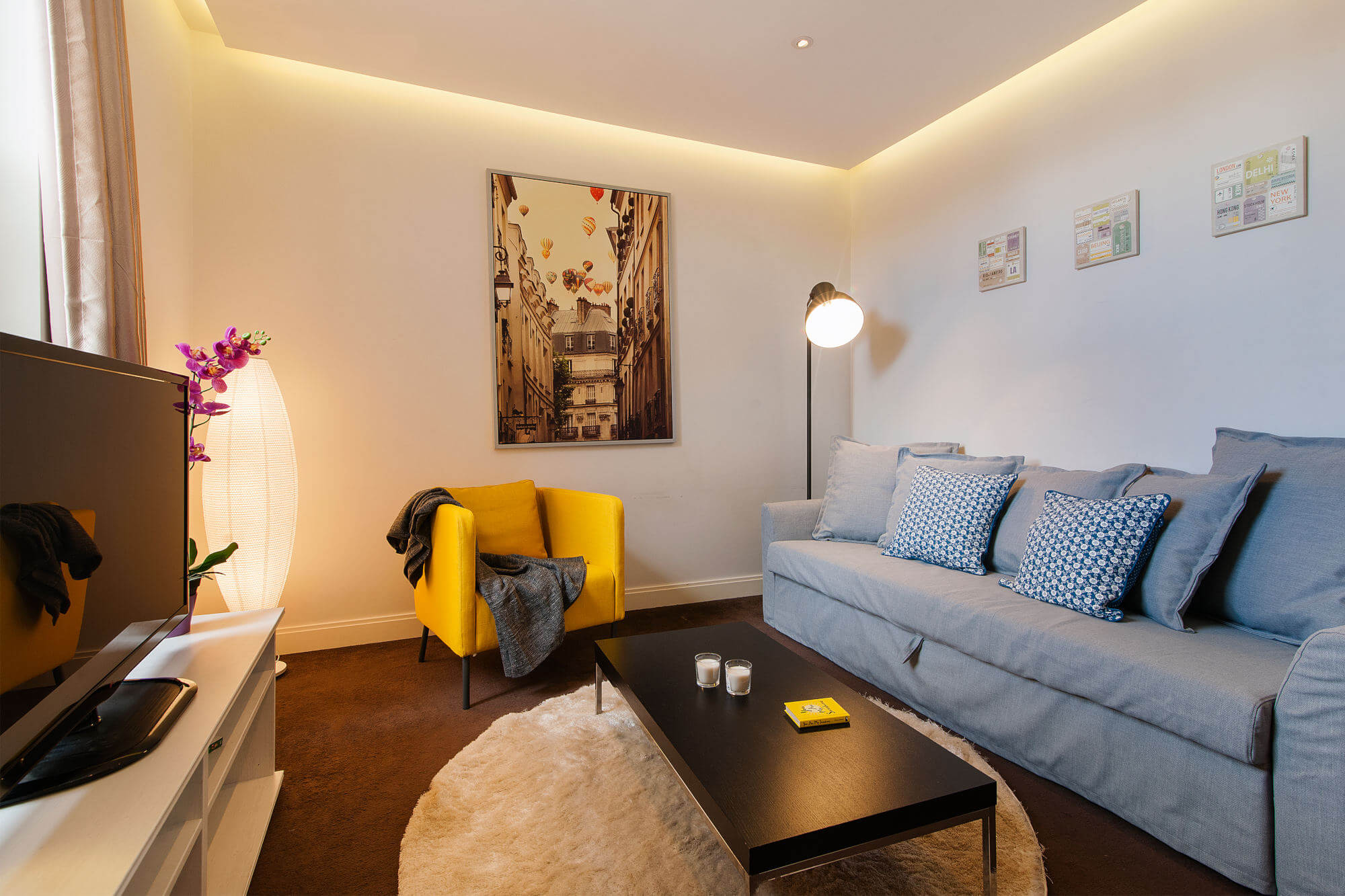 The Fulham Road Residence-living area-featured image-fulham road apartment