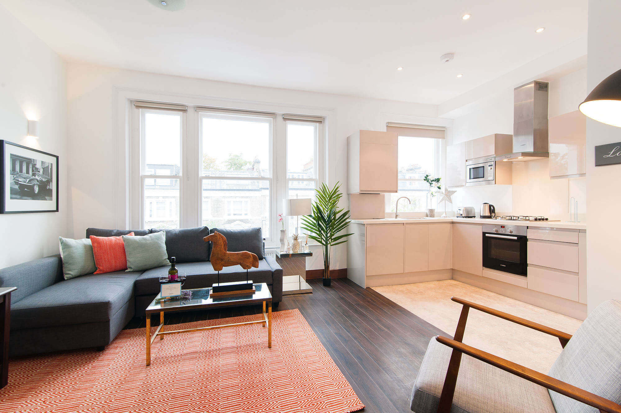 The Holland Road Residence II-living area-featured image - two bedroom apartment london