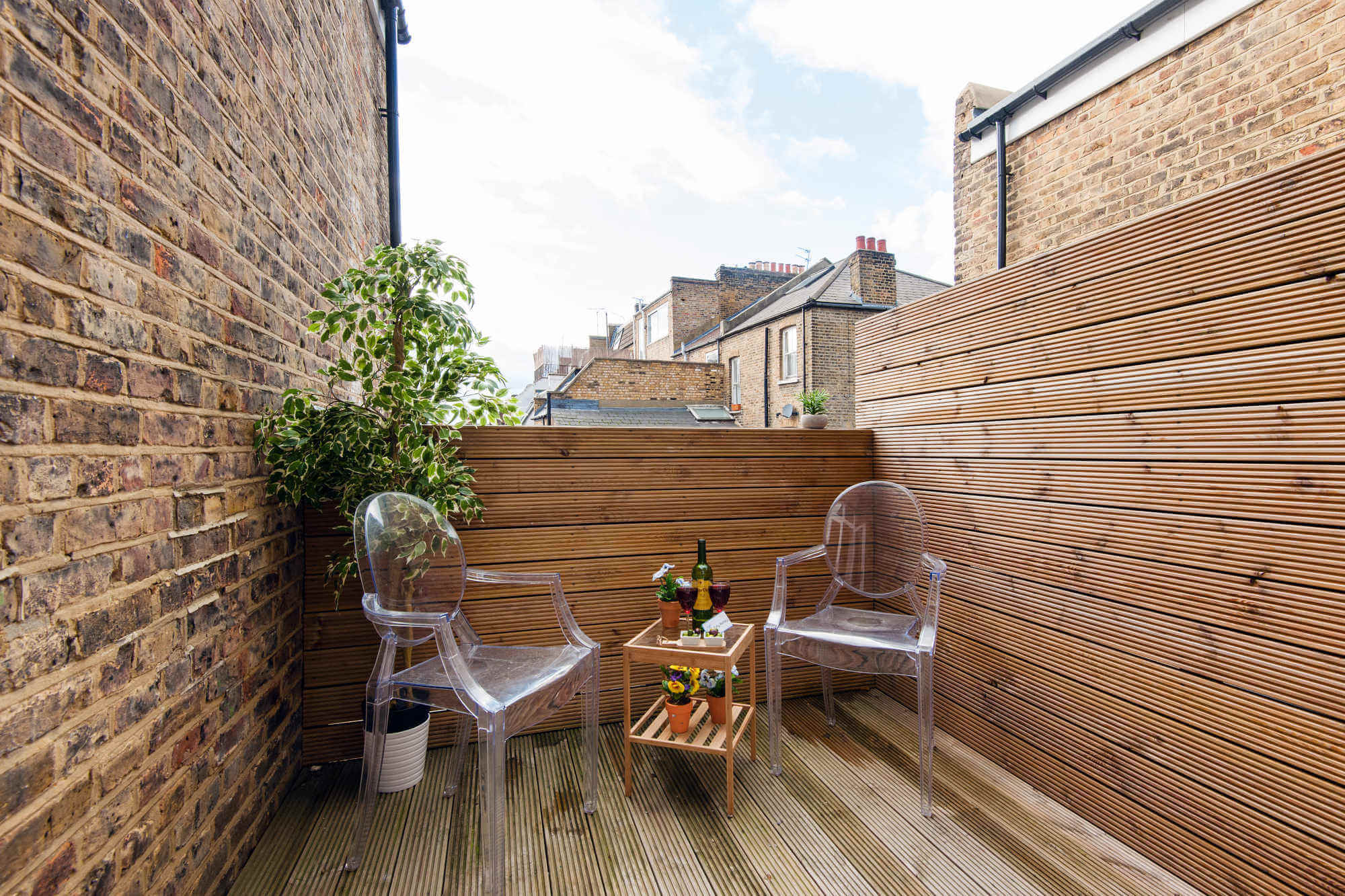 The North End Road Residence II-balcony-featured image - short-term rental london