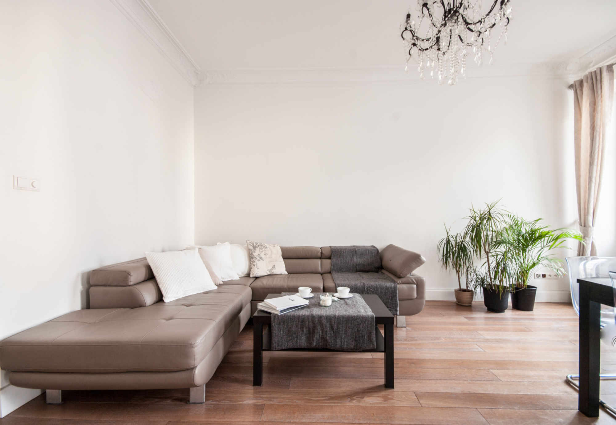 Corporate serviced apartment Warsaw - Dobra 11 - sofa bed