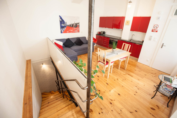 Prague, CZ Eclectic and design duplex with terrace in the heart of Prague