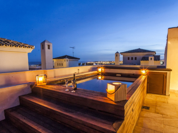 Marbella, ES Champagne Penthouse