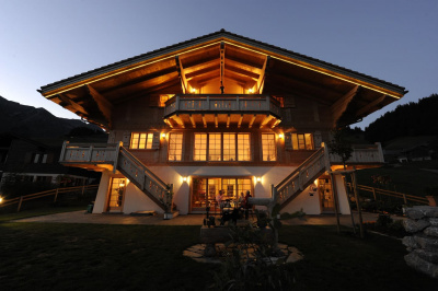 Mountain Top Chalet with fantastic views