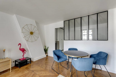 Marais apartment with mobility lease