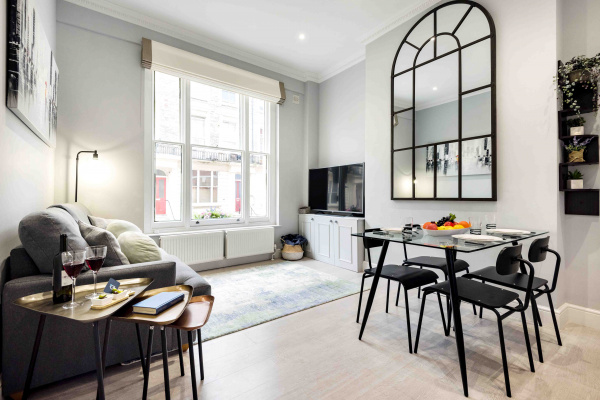 London, GB Bright and Modern Bayswater Apartment - PHO