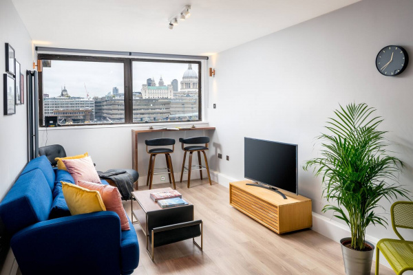 London, GB Stunning 2-bedroom flat with riverview in Bankside