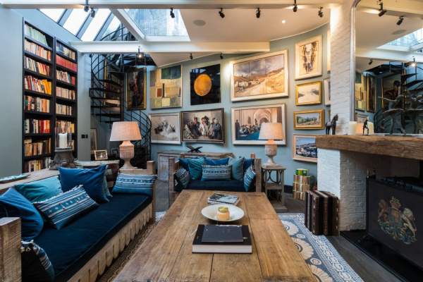 London, GB Breathtaking 4-bed Bohemian Home with Outdoor Terrace