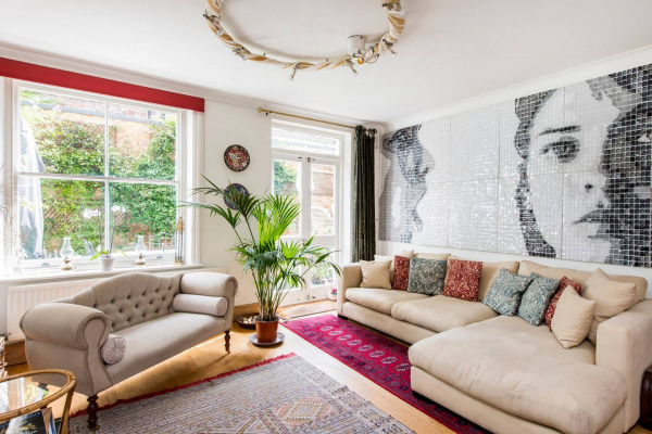London, GB Artistic 3 bed garden flat, near Notting Hill