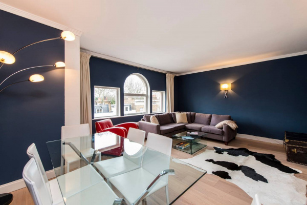 London, GB Roof terrace Apartment & car space