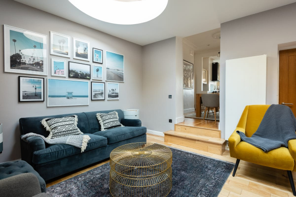 London, GB The 3BDRM King's Row Quiet near King's Cross with Garden